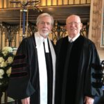 Tom Guerry and Mitch Carnell at French Huguenot Church